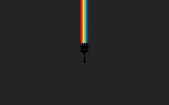 """Zum Download: <a href=""""http://simpledesktops.com/browse/desktops/2011/jul/11/rainbow-paint/"""">SimpleDesktops</a>."""