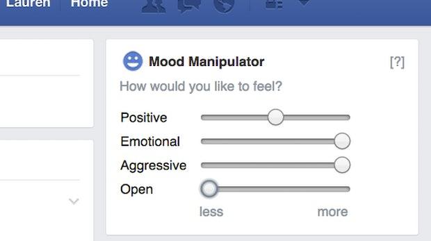 Facebook Mood Manipulator: Chrome-Plugin lässt dich deine Stimmung selbst beeinflussen
