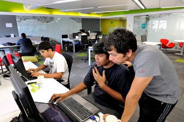 Apple-Konkurrent Microsoft unterhält sogar schon einen Startup-Accelerator in Indien. (Foto: Microsoft)