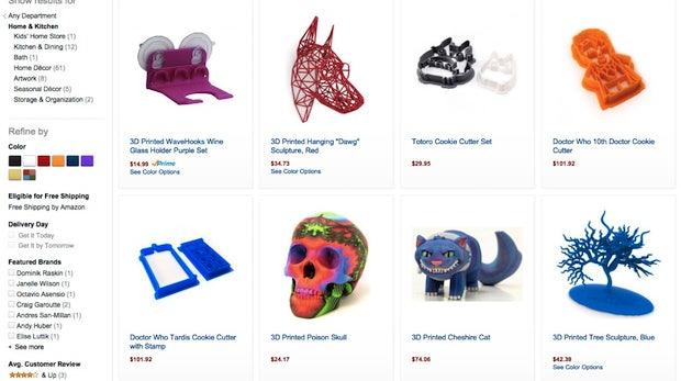 Amazon verkauft jetzt individualisierbare Objekte aus dem 3D-Drucker