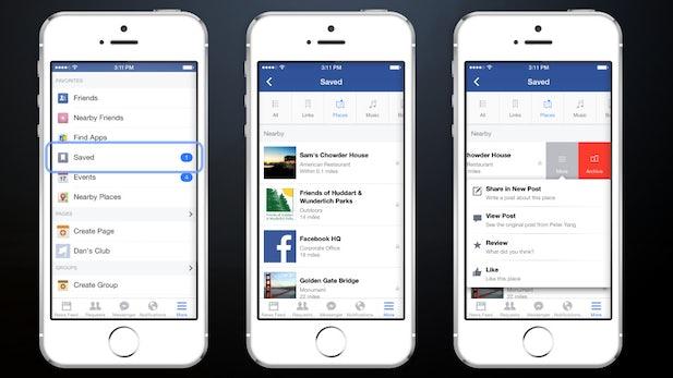 Inhalte für später abspeichern: Facebook führt neue Save-Funktion ein