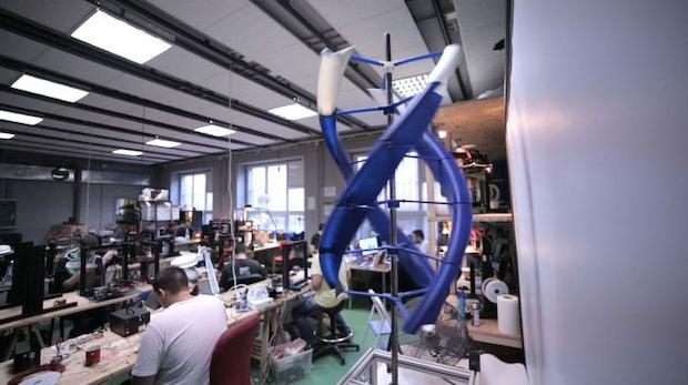 AirEnergy 3D: Mobile Windturbine aus dem 3D-Drucker produziert Strom