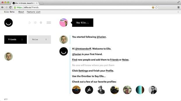 Ello: Facebook-Alternative verzeichnet 4.000 Neuanmeldungen pro Stunde