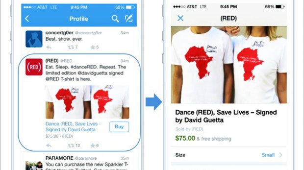 E-Commerce im Social Network: Twitter testet Buy-Button in Tweets
