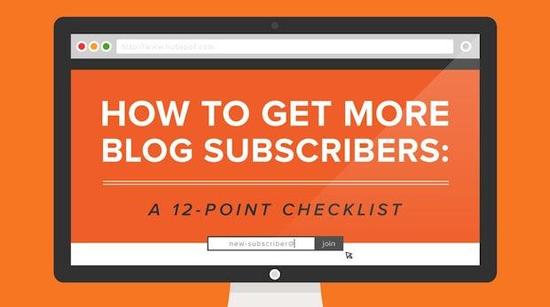 Listbuilding für Blogger: Mit 12 Tipps zu mehr Abonnenten