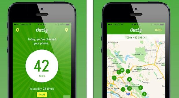"""Smartphone-Sucht: Wie die """"Checky""""-App dich erlösen will – und doch nur alles schlimmer macht"""