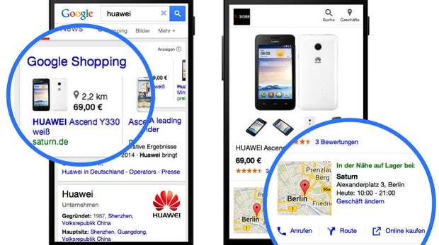 Google-Produktanzeigen informieren ab sofort über Verfügbarkeit