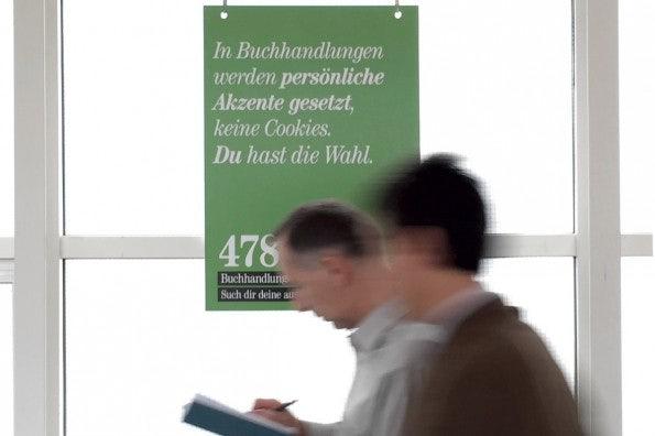 Die Frankfurter Buchmesse ist die größte Buchmesse der Welt. (Foto: t3n)