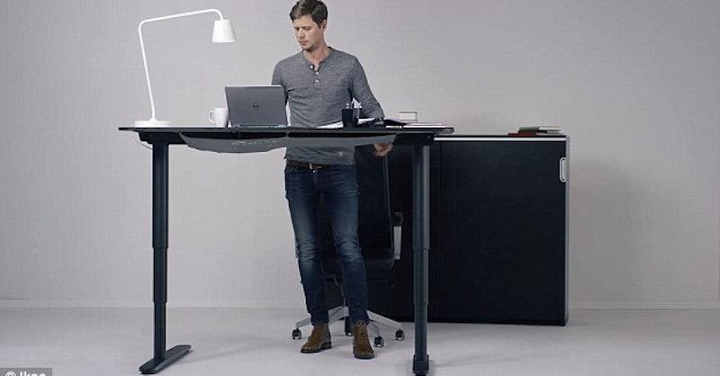 Ikea stellt standing desk vor 7 gute gr nde f r das for Ikea stand up pupitres
