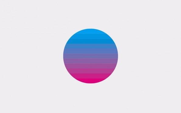 "Minimalistische Wallpaper - Cyan-Magenta: Zum Download: <a href=""http://simpledesktops.com/browse/desktops/2014/sep/06/cyan-magenta/"">SimpleDesktops</a>."