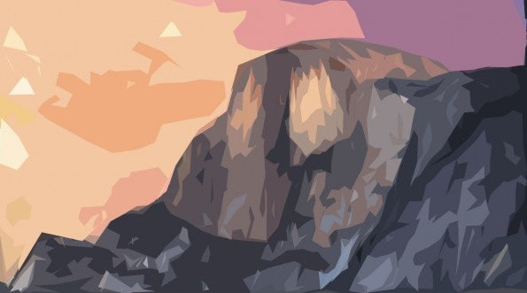"Minimalistische Wallpaper - Yosemite: Zum Download: <a href=""http://simpledesktops.com/browse/desktops/2014/oct/28/yosemite/"">SimpleDesktops</a>."