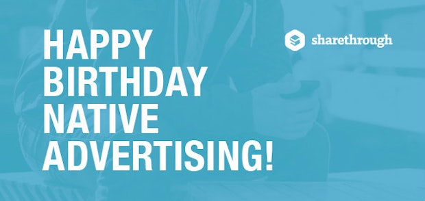 Happy Birthday: Drei Jahre Native Advertising im Überblick