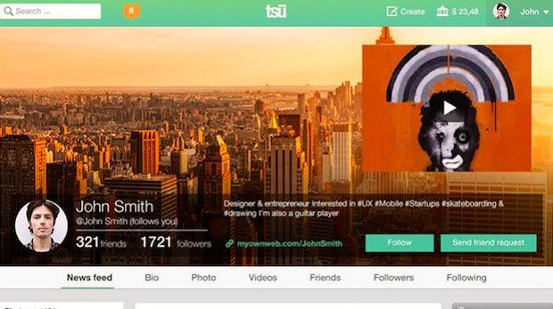 Tsu: Dieses Social Network bezahlt seine Nutzer per Schneeballsystem