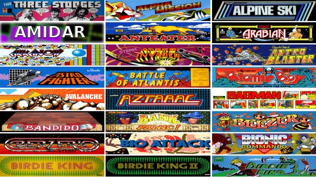 Internet Archive: 900 Arcade-Games gratis im Browser spielen