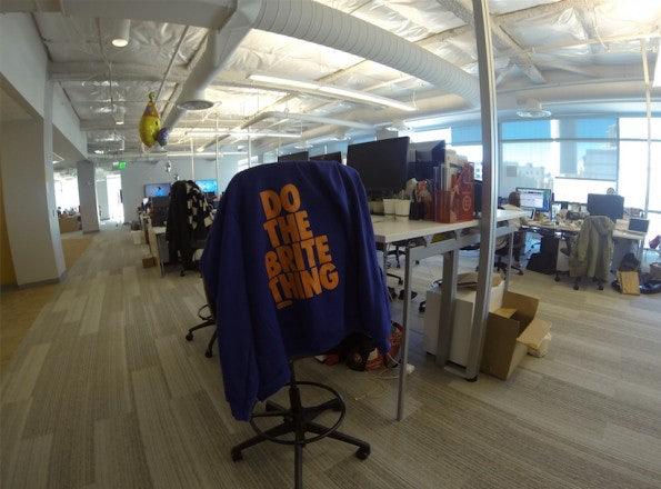 Zu Besuch im Eventbrite-Hauptquartier in San Francisco. (Bild: Andreas Weck)