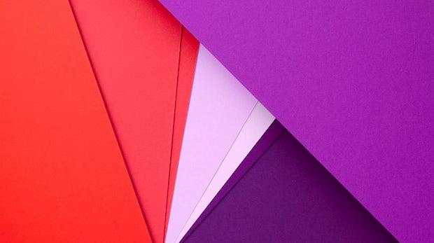 """Wallpaper im Material Design für Fans und Kreative. <a href=""""http://t3n.de/news/wp-content/uploads/2014/11/Material-Wallpaper-1.jpg"""">Zum Download!</a>"""