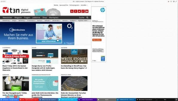 Yandex-Browser t3n