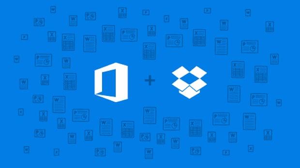 Bearbeiten in der Cloud: Dropbox und Microsoft Office verschmelzen ihre Dienste