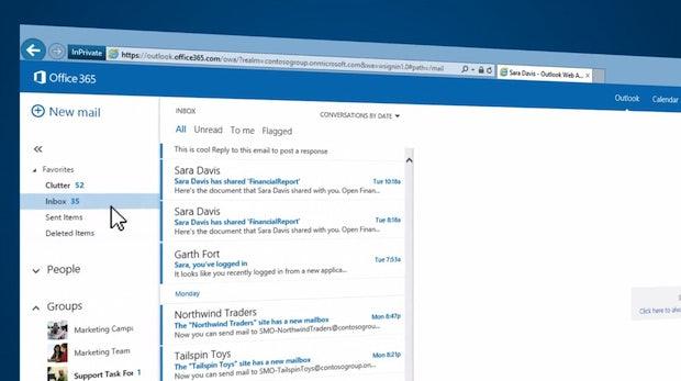 Automatische Mail-Sortierung: Microsofts Clutter soll die Inbox zähmen