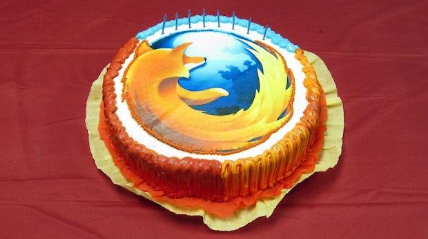 10 Jahre Firefox: Geburtstags-Browser kommt in zwei neuen Versionen