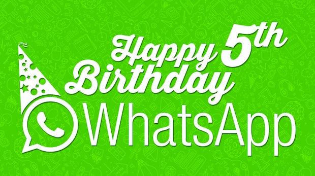 5 Jahre WhatsApp: Zahlen und Geschichte des Messengers im Überblick