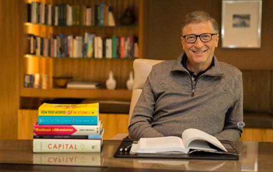 Bill Gates empfiehlt das beste Unternehmerbuch, das er je gelesen hat