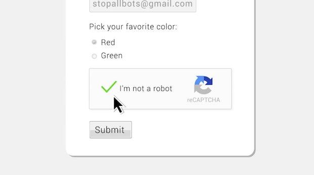 """""""No CAPTCHA reCAPTCHA"""" – Google erlöst das Internet"""