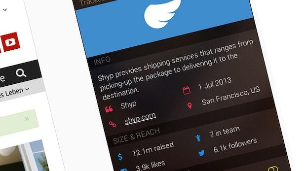 CrunchBase überall: Startup-Tracker bringt die geniale Startup-Datenbank in euren Browser