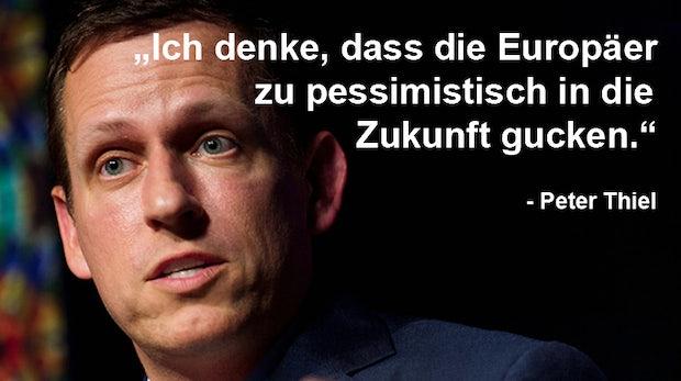 Der Anti-Deutsche aus dem Silicon Valley: Peter Thiel im Portrait