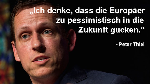 Der Anti-Deutsche aus dem Silicon Valley: Peter Thiel im Portrait
