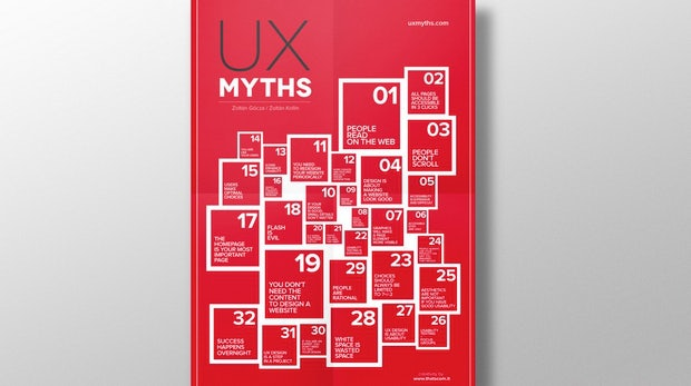 32 Mythen im UX-Design