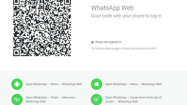 WhatsApp Web: So nutzt du WhatsApp auf dem Desktop