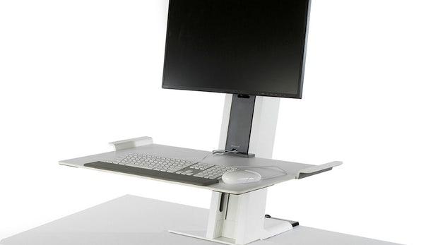 Fit im Büro mit OfficeIQ: Intelligenter Schreibtisch hilft beim Kalorien verbrennen