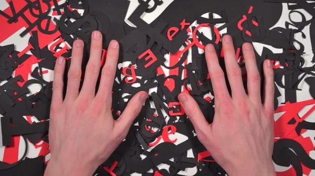 Die Geschichte der Typografie: 5-minütiger Animationsfilm erklärt Old Style, Transitional und Modern
