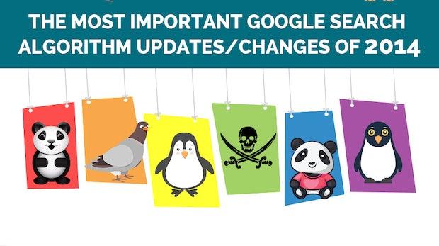SEO 2014: Alle Updates des Google-Algorithmus in der Übersicht