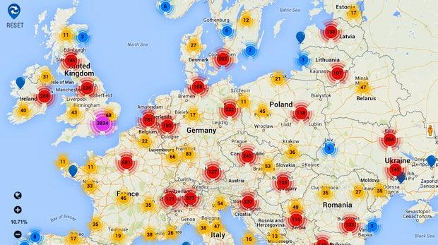 Von Startups bis Coworking-Spaces: Website kartografiert die Startup-Welt