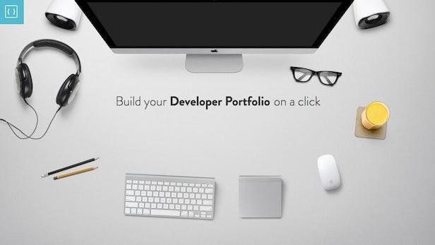 Stockroom: Mit nur einem Klick zum schicken Entwickler-Portfolio