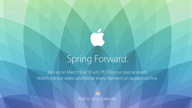 Apple lädt zum Event am 9. März: Details zur Apple Watch erwartet