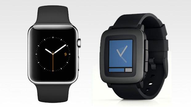Lifestyle vs. Nerd-Chique: Wieso ich mir eine Pebble Time und keine Apple Watch kaufe
