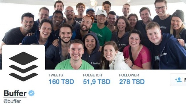 Social-Media-Präsenz aufbauen: Was Startups aus den ersten Buffer-Tweets lernen können