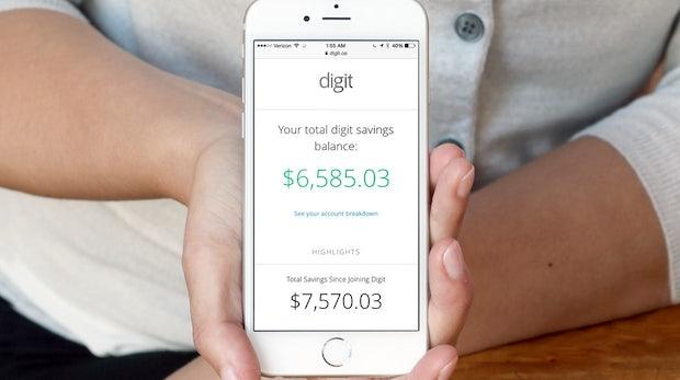 Mit Digit wird das selbstlernende Sparbuch Realität. (Foto: Digit)