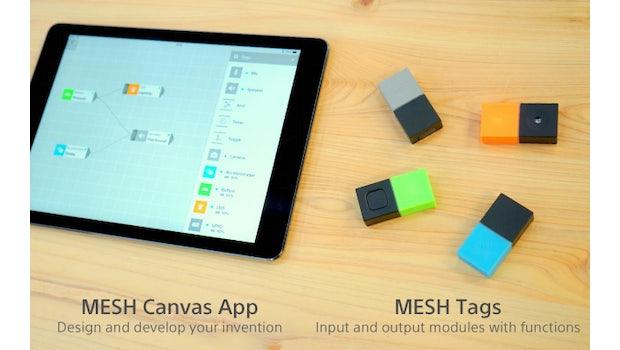 MESH: Nutzer müssen weder löten noch programmieren.  (Foto: Indiegogo)