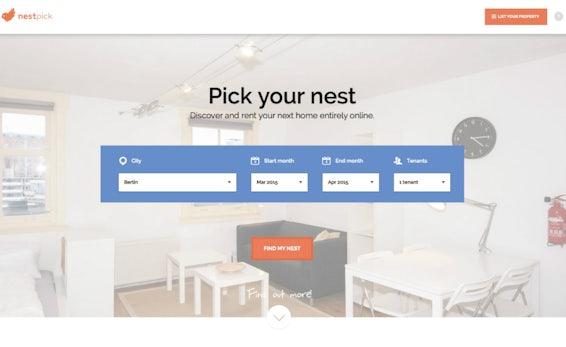 Nestpick: Rocket Internet bringt Airbnb-Rivalen in Deutschland an den Start