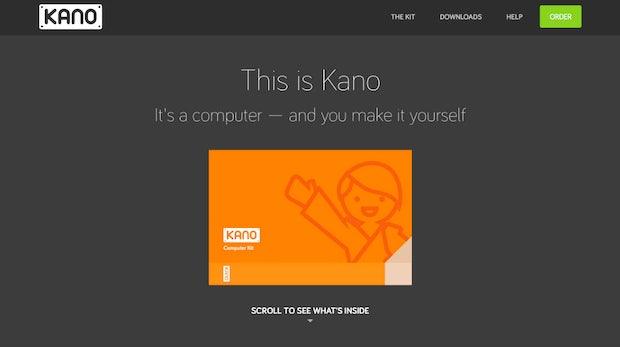"""<a href=""""http://www.kano.me"""">Zum Startup!</a>"""