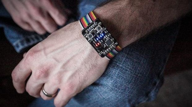 Binary-Watch: Auch so kann eine Uhr aussehen. (Foto: Jordan Wills)