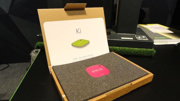 Der kiwi.ki-Transponder ermöglicht das Öffnen der Haustür ohne Schlüssel-Suche. (Foto: t3n)