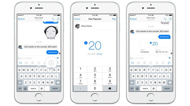 Facebook Messenger: Kostenlose Online-Payment-Funktion freigeschaltet