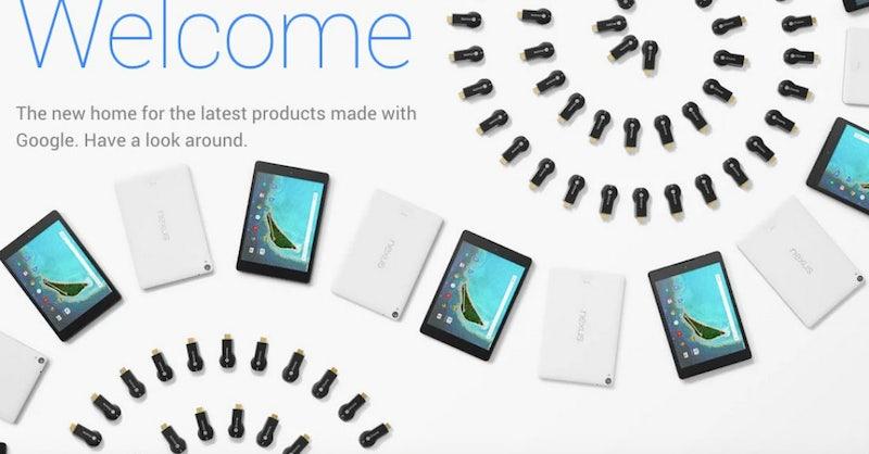 konkurrenz f r apple store google launcht neuen online shop und erste filiale t3n. Black Bedroom Furniture Sets. Home Design Ideas