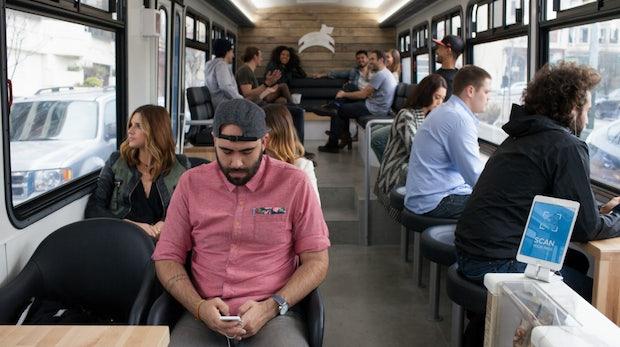 Eine Busfahrt, die ist lustig: Leap bringt die Zukunft des Massentransports