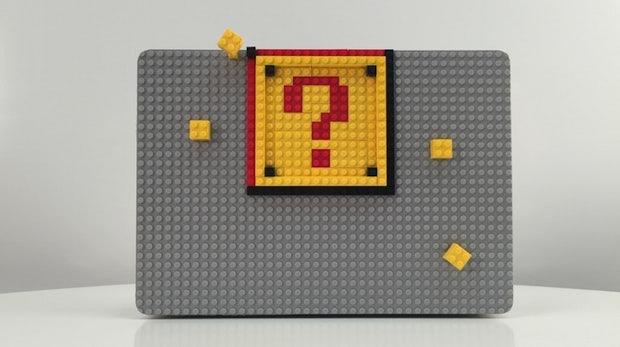 Das war's mit der Produktivität: Brik-Case verbindet Legosteine mit eurem MacBook